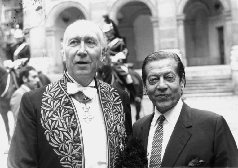 Serge Lifar et Yves Brayer